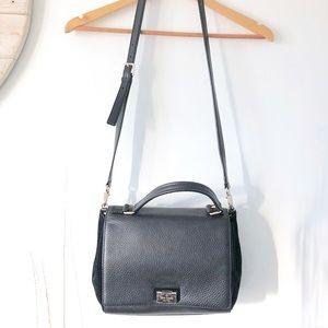 Kate Spade | Leather & Velvet Crossbody Bag